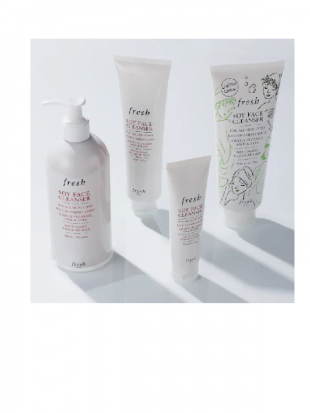 Soy Makeup Removing Face Wash fresh