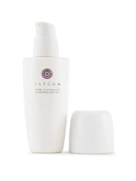 tatcha the camellia oil in makeup remover cleanser