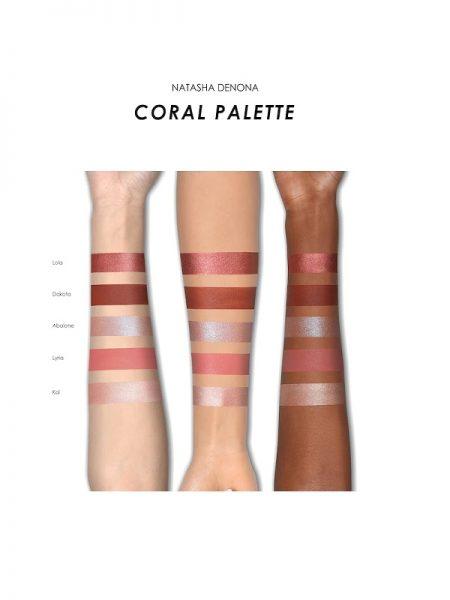 Coral Eyeshadow Palette Natasha Denona